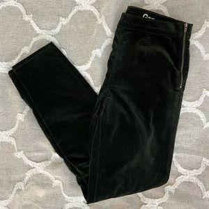 GAP Dark Forest Green Velvet Pants